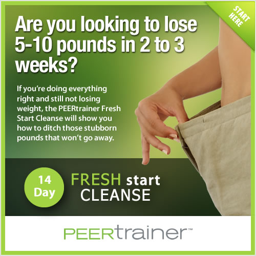 peertrainer fresh start cleanse
