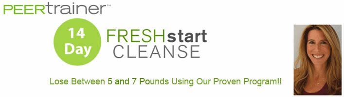 PEERtrainer Fresh Start Cleanse
