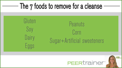 7 foods to remove on a cleanse